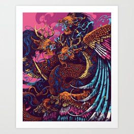 Gorynych Art Print