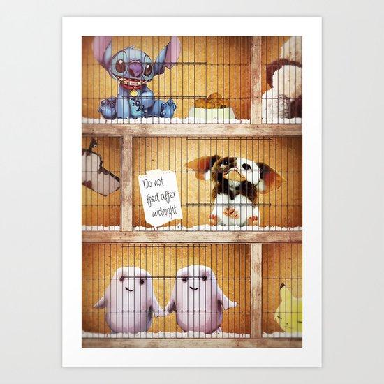 The Cosmic Pet Shop Art Print