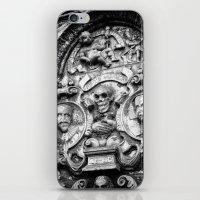 edinburgh iPhone & iPod Skins featuring Edinburgh Gothic by Mark Nelson