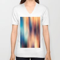blur V-neck T-shirts featuring Blur by ALT + CO