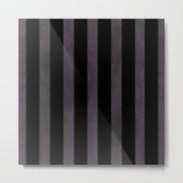 Gothic Stripes Metal Print