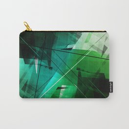 Jungle - Geometric Abstract Art Carry-All Pouch