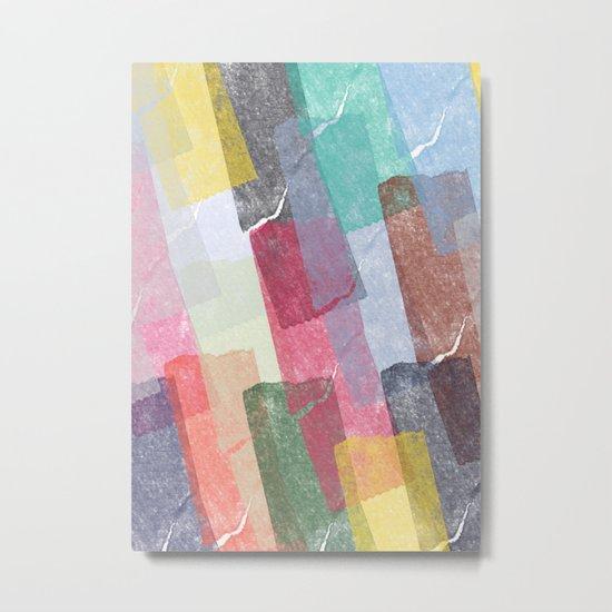 Abstract pattern 12 Metal Print