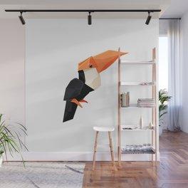 Origami Toucan Wall Mural