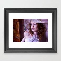 A bit of Glamour Framed Art Print