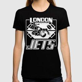 Dave Lister London Jets T-shirt