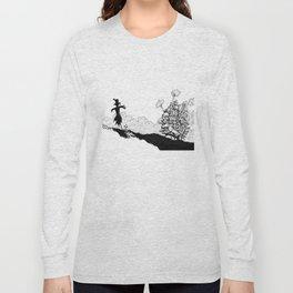 Howl no Ugoku Shiro Long Sleeve T-shirt