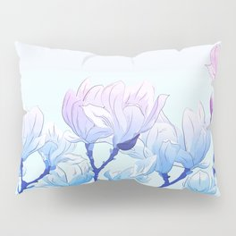 Frozen Magnolia Pillow Sham