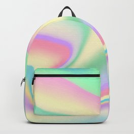 Holographic Design Backpack
