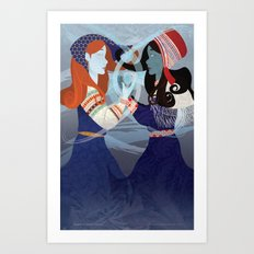 The Russian Daughters of January Art Print