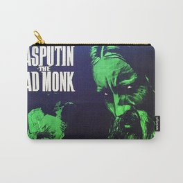 Rasputin, The Mad Monk, vintage horror movie poster Carry-All Pouch