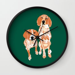 Gracie and George Wall Clock