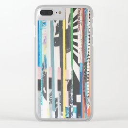 STRIPES 22 Clear iPhone Case