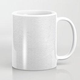 White Wall Texture (Black and White) Coffee Mug