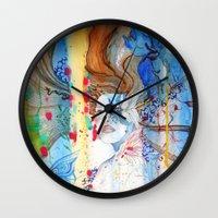 under the sea Wall Clocks featuring under the sea by S.Svetlankova
