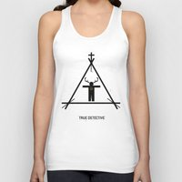 true detective Tank Tops featuring True Detective by Deep Search