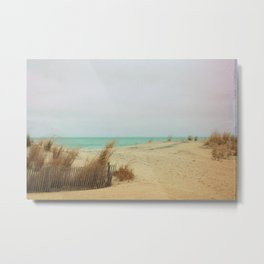 Aqua Sea Breeze Metal Print