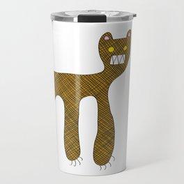 Squared Tiger Travel Mug