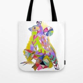 COLOR ME BIRDY Tote Bag