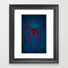 The Spider man Framed Art Print