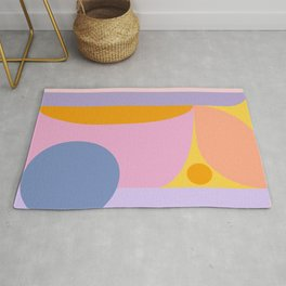 Pink and Lavender 01 Rug