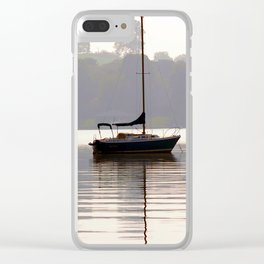 At Rest in Calm Waters- Photographic Collection Clear iPhone Case