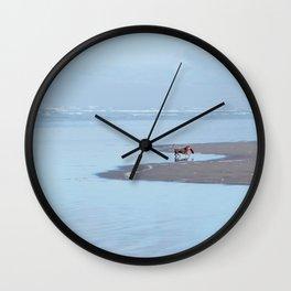 Doggy Heaven Wall Clock