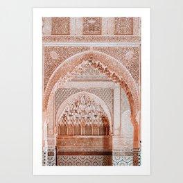 Morocco travel no1 Art Print