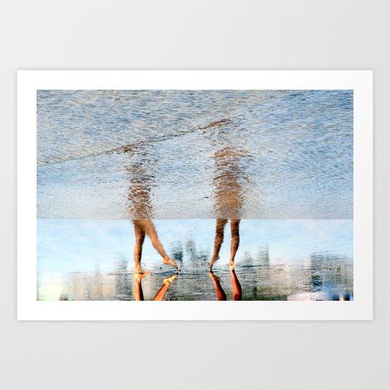 mystery dance Art Print