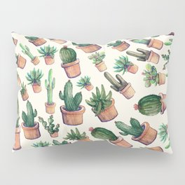 Cactus invasion Pillow Sham