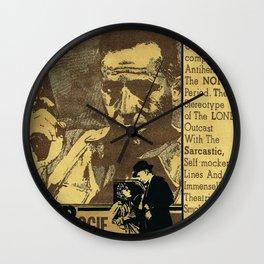 """Bogie"" - by Fanitsa Petrou Wall Clock"