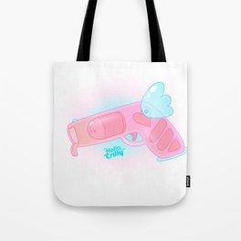 Hellorilly LoveGun Tote Bag