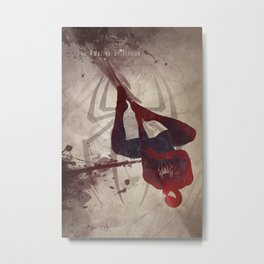 The Amazing Spiderman Metal Print
