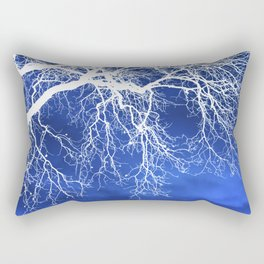 Weeping Tree Abstract Rectangular Pillow