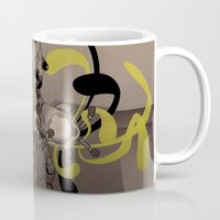 fullmetal alchemist Mugs featuring The Alchemist 014 by Alex.Raveland...robot.design.digital.art
