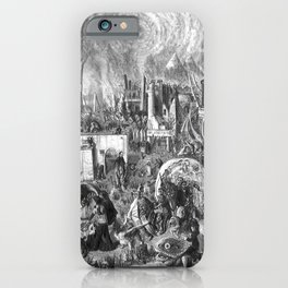 Follow the white rabbit iPhone Case