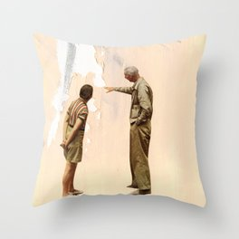 Watching Paint Dry Throw Pillow