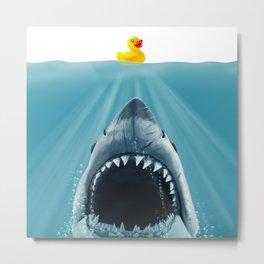 Save Ducky Metal Print