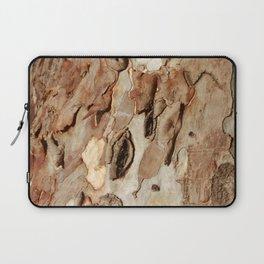 Eucalyptus Tree Bark Texture Abstract Laptop Sleeve