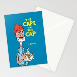 The Capt. In The Cap Stationery Cards