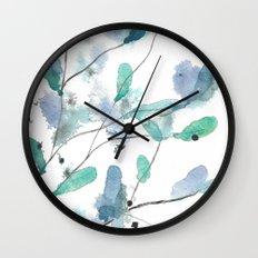 Buds 9 Wall Clock