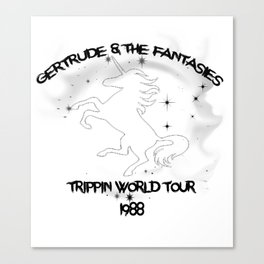 Unicorn World Tour Canvas Print