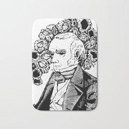 Darwin and His Barnacles Bath Mat
