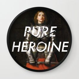 Heroine of Arc Wall Clock