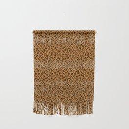 Dark leopard animal print Wall Hanging