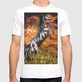 It's always sunny in philadelphia, charlie kelly horse shirt, black stallion T-shirt