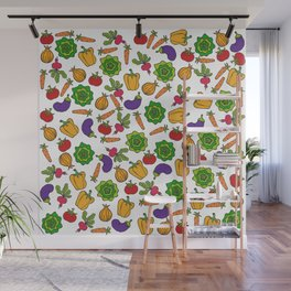 Vegetables Wall Mural