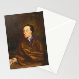 Alexander Pope by Jonathan Richardson (1738) Stationery Cards