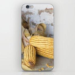 cob and pot with flour iPhone Skin
