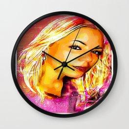 Roseate Jelena 01 Wall Clock